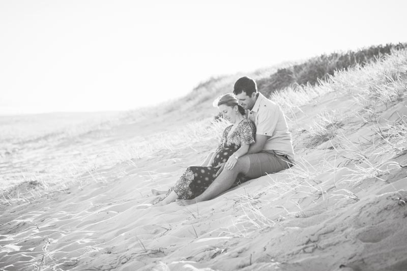 A maternity session with Newcastle Maternity photographer Little Magnolia