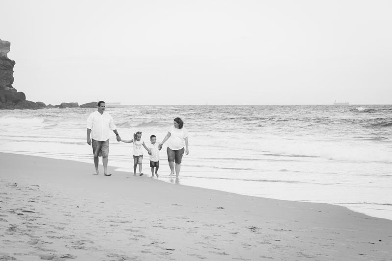 Family beach photography by Little Magnolia Newcastle